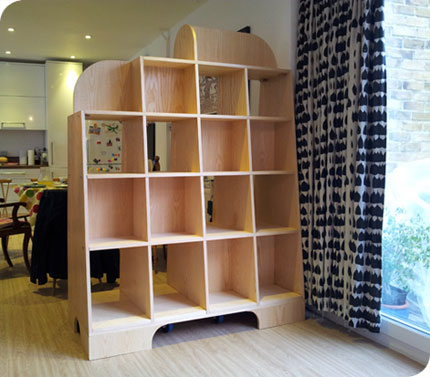 Room Divider on wheels - photo