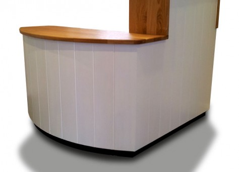 Glade reception desk in European Oak