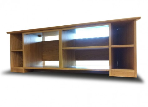 INDUSTRIA Television Unit, in solid European Oak
